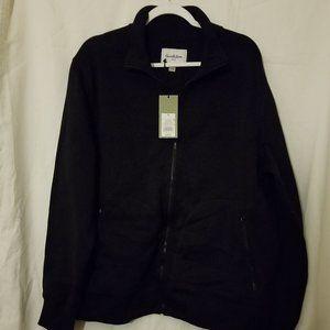 Goodfellow Ebony Full Zip Jacket/Pockets XL NWT